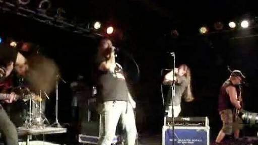 Singer Throws Up During Performance