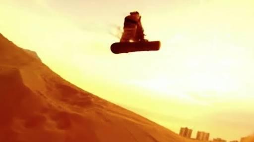 Sandboarding Dunes Provides Incredible Visuals