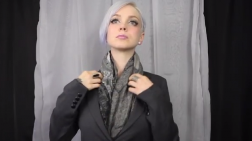 You Won't Believe What Sara X Can Do Once the Coat Comes Off