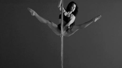 Slow Motion Pole Dancing Video Will Mesmerize You