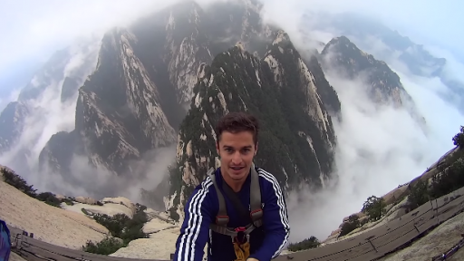 Selfie During 'Scariest Walk in the World' Will Make Your Stomach Drop