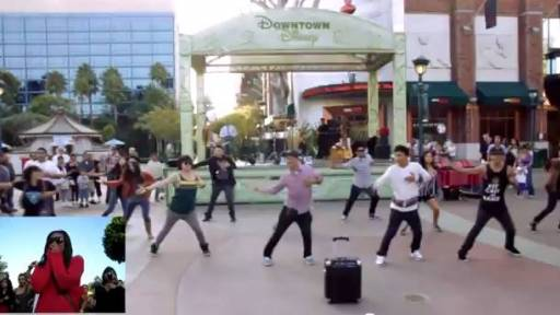 Proposal Video of the Day: Disneyland Flashmob
