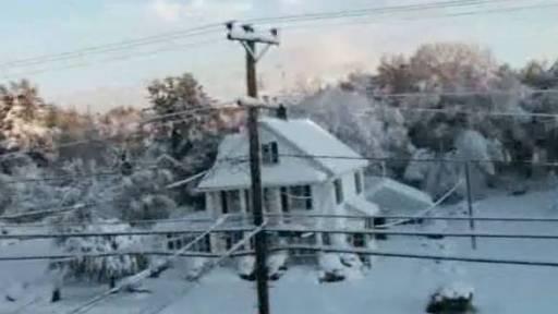 Heavy Snow Storm Hits Northeast