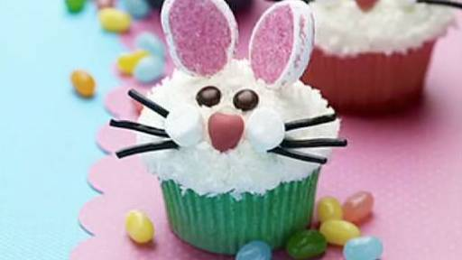 Cute Easter Cupcakes for Your Face