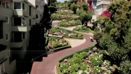 Speeding Down Lombard Street