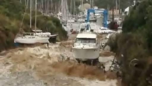 Destructive Flooding in Sardinia