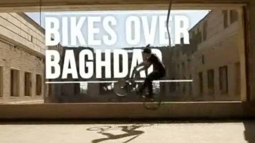 Bikes Over Baghdad to Entertain the Troops