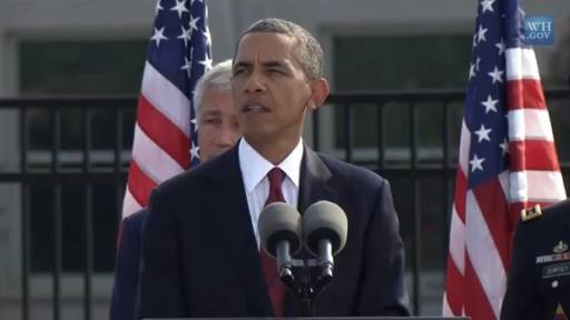 The U.S. Remembers 9/11, Obama Speaks at the Pentagon