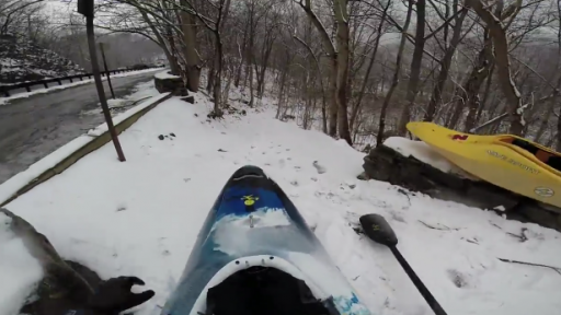 No Water? No Problem! They Can Kayak in the Snow