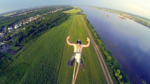 A Historic BASE Jump that Literally Tests the Limits of the Human Body