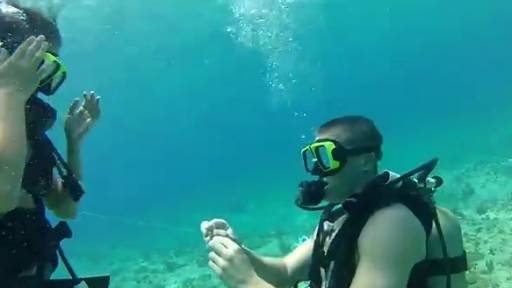 Original: 20,000 Kisses Under the Sea: An Underwater Proposal