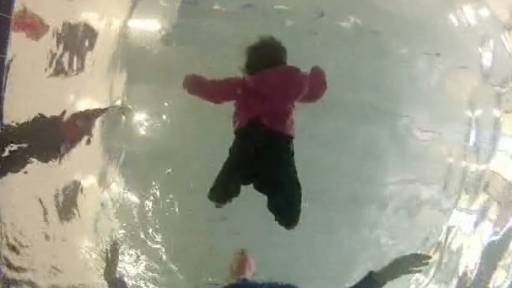 GoPro Camera Captures Infant Self-Rescue Exercise