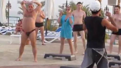 Original Video: The Step Class Sexy Speedo Man