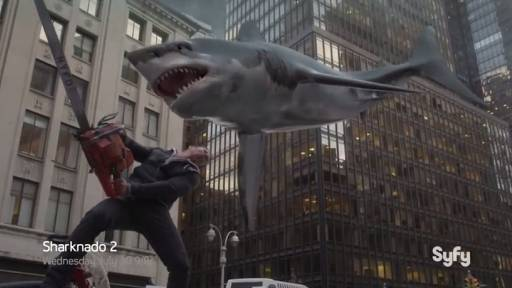 Sharknado 2 Is Here and It's as Ridiculous as You Would Imagine