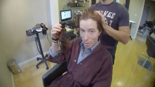 Shaun White Finally Cuts His Sultry Locks