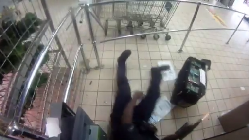 Bullets Fly in Crowded Mall as Men Rob ATM