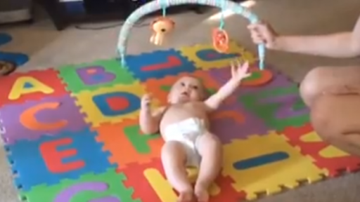 Baby in Slow Motion