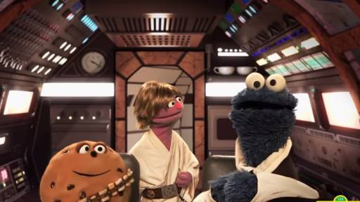 In a Galaxy Far, Far Away, Sesame Street Parodies Star Wars