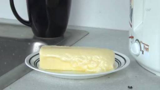 Guess What Happens to a Stick of Butter at Room Temperature?