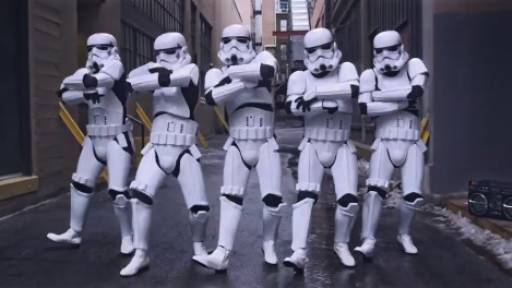 Stormtroopers Make the Best Twerkers