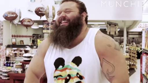 Strongman Competitor Eats 20,000 Calories in One Day