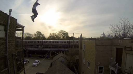 Stuntman Takes a Major 'Leap of Faith'