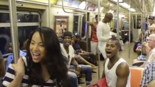 'Lion King' Performers Turn Subway Into 'Circle of Life'