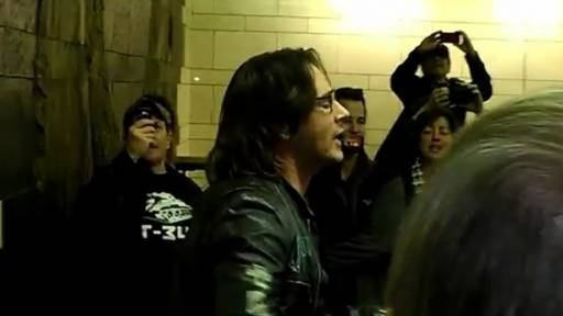 Surprise Subway Performance From Rick Springfield