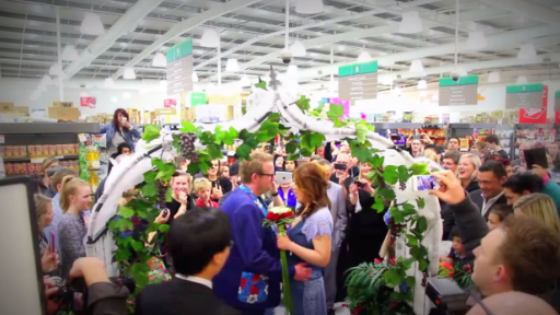 Wedding Bells Are Ringing at the Supermarket!