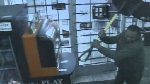 Store Clerk Attacked With Shovel