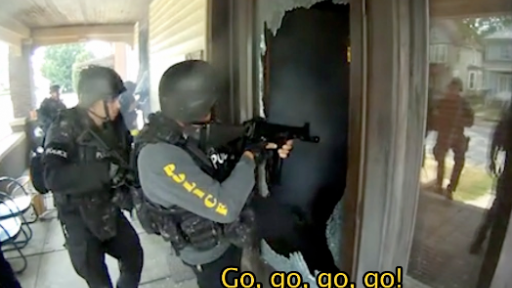 Jaw-Dropping SWAT Footage Might Make You Change Your WiFi Password