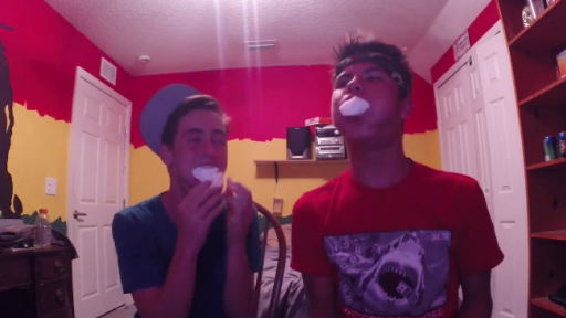 When Teenage Boys Get Ahold of a GoPro, It's 'Chubby Bunny' Time!