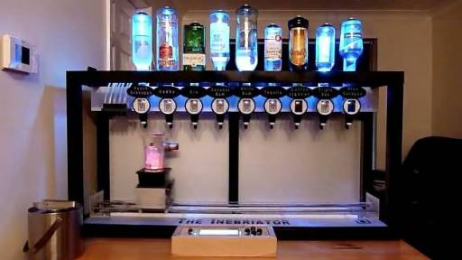 No Need for a Bartender With This Machine
