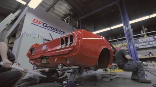 Building a Re-Imagined '69 Mustang From Scratch