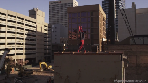 Your Friendly Neighborhood Parkour Spider-Man