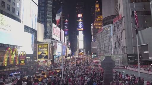 A Look at the People of Times Square