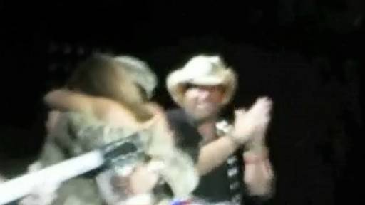 Toby Keith Has a Surprise for Audience Member