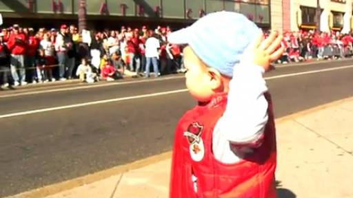 Daily Comeback: Toddler Leads The Crowd