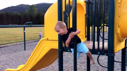 Playground Fail for a Toddler