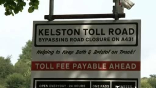 Entrepreneur Builds Toll Road Due to Landslide