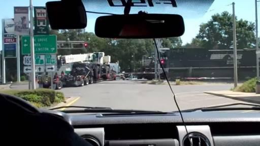 18-Wheeler Derails Train in Louisiana