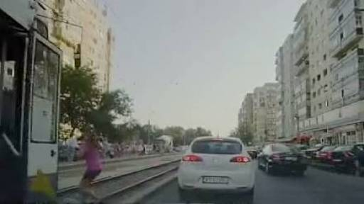 GRAPHIC: Woman Gets Foot Cut Off by Tram