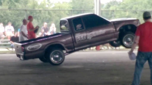If You Don't Have a Bull for the Rodeo, You Could Just Use This Truck...