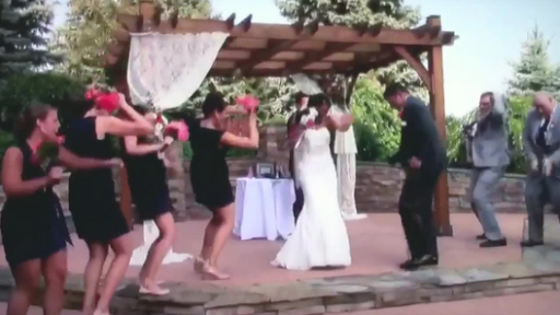 'Turn Down for What!?' Said the Bride and Groom