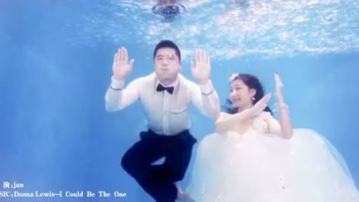 Underwater Wedding Photos Will Take Your Breath Away
