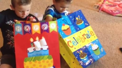 Boys Pranked with Girly Birthday Gifts, Meltdown Ensues