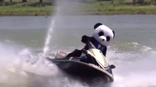 Nerf Guns, Pandas Make Everything Better at Lake House