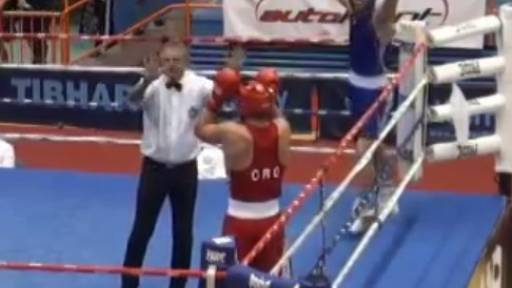 Referee KO'd by Boxer in European Bout
