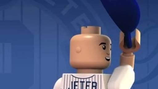 Remembering Derek Jeter in Lego-Like Form