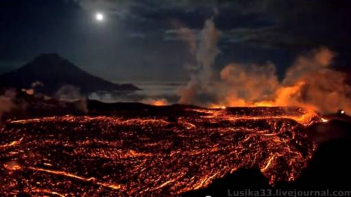 Amazing Volcano Eruption Footage